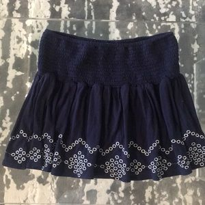 Emory Park cute navy mini with white detail